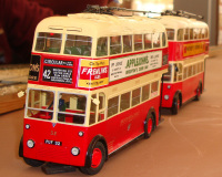 '0' Gauge model of Brighton Trolleybus