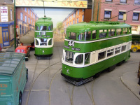 'Green Goddess' cars